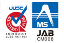 ISO9001 JUSE RA 1854 JABCM008